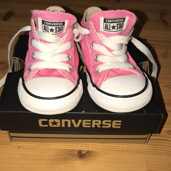 f244abc16433 Converse Other - Pink converse toddler size 6